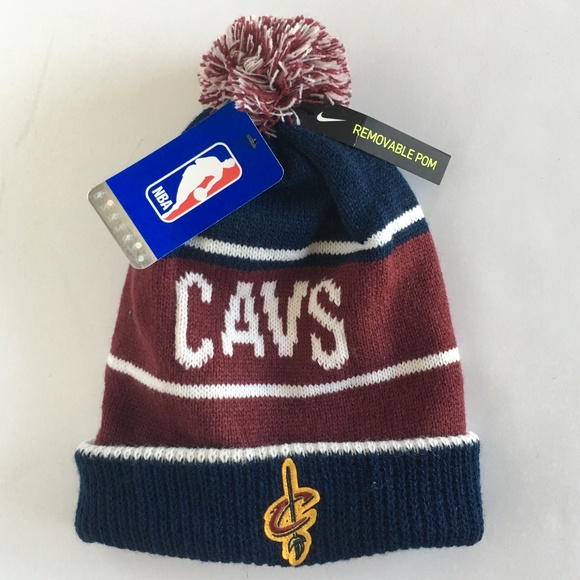 a5fb7ff2 Nike Accessories | Cleveland Cavaliers Winter Beanie Hat Nwt | Poshmark